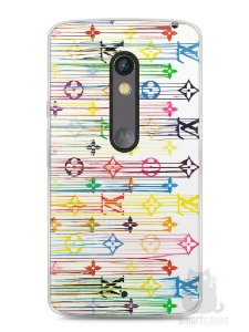 Capa Capinha Moto X Play Louis Vuitton #1