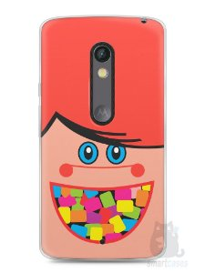 Capa Capinha Moto X Play Chicletes Mini