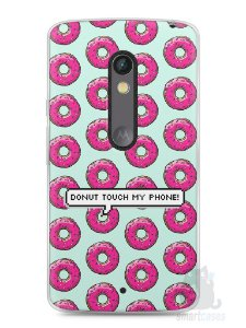 Capa Capinha Moto X Play Donut Touch My Phone