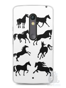 Capa Capinha Moto X Play Cavalos #2