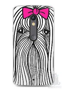 Capa Capinha Moto X Play Cachorro Chitzu