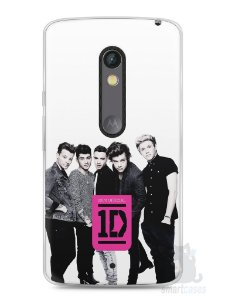 Capa Capinha Moto X Play One Direction #2