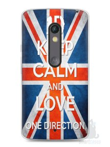 Capa Capinha Moto X Play One Direction #3