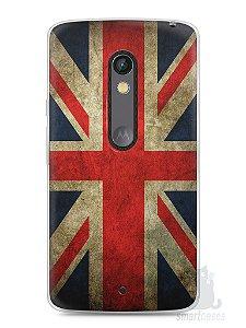 Capa Capinha Moto X Play Bandeira da Inglaterra