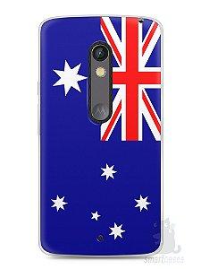 Capa Capinha Moto X Play Bandeira da Austrália