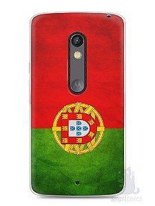 Capa Capinha Moto X Play Bandeira de Portugal