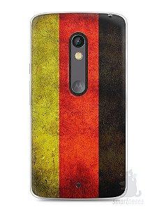 Capa Capinha Moto X Play Bandeira da Alemanha