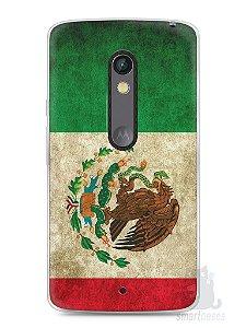 Capa Capinha Moto X Play Bandeira do México
