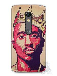 Capa Capinha Moto X Play Tupac Shakur #1