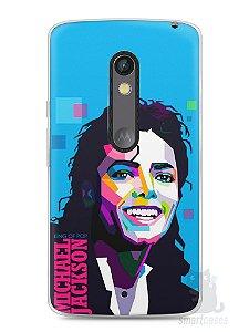Capa Capinha Moto X Play Michael Jackson #2