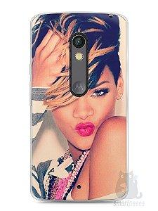Capa Capinha Moto X Play Rihanna #1