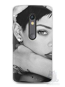 Capa Capinha Moto X Play Rihanna #5