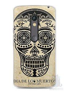 Capa Capinha Moto X Play Dia dos Mortos #2