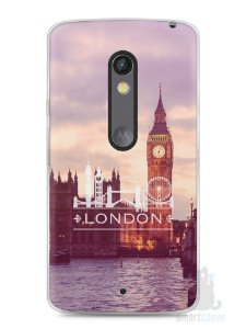 Capa Capinha Moto X Play Londres #1