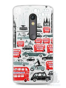 Capa Capinha Moto X Play Londres #2
