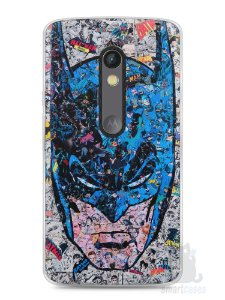 Capa Capinha Moto X Play Batman Comic Books #1