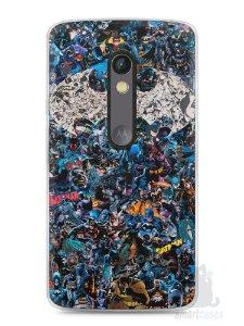 Capa Capinha Moto X Play Batman Comic Books #3
