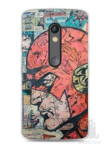 Capa Capinha Moto X Play The Flash Comic Books