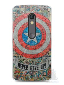 Capa Capinha Moto X Play Capitão América Comic Books #3