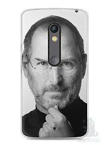 Capa Capinha Moto X Play Steve Jobs