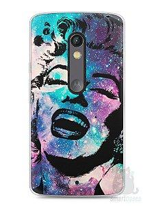 Capa Capinha Moto X Play Marilyn Monroe #2
