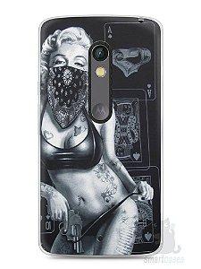 Capa Capinha Moto X Play Marilyn Monroe #3