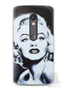 Capa Capinha Moto X Play Marilyn Monroe #4