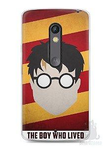 Capa Capinha Moto X Play Harry Potter #2