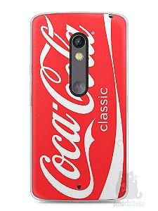Capa Capinha Moto X Play Coca-Cola