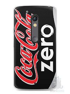 Capa Capinha Moto X Play Coca-Cola Zero