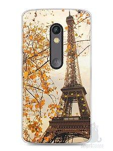 Capa Capinha Moto X Play Torre Eiffel #1