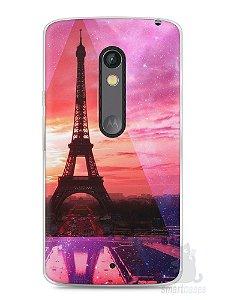 Capa Capinha Moto X Play Torre Eiffel #2