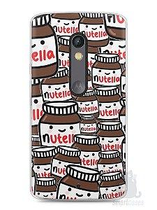 Capa Capinha Moto X Play Nutella #1