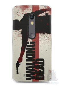 Capa Capinha Moto X Play The Walking Dead #1