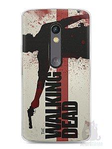 Capa Capinha Moto X Play The Walking Dead #1