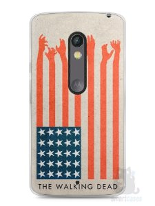 Capa Capinha Moto X Play The Walking Dead #2