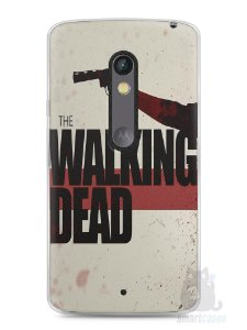 Capa Capinha Moto X Play The Walking Dead #3