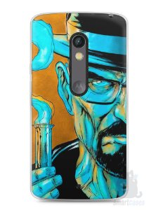Capa Capinha Moto X Play Breaking Bad #1