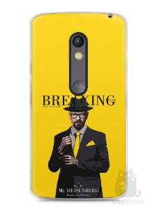 Capa Capinha Moto X Play Breaking Bad #2