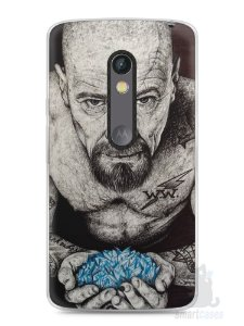 Capa Capinha Moto X Play Breaking Bad #4