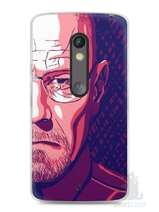 Capa Capinha Moto X Play Breaking Bad #6