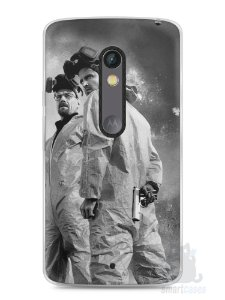 Capa Capinha Moto X Play Breaking Bad #9