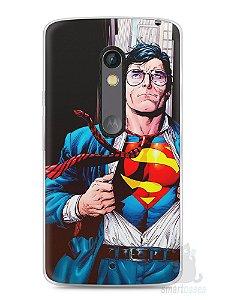 Capa Capinha Moto X Play Super Homem #1