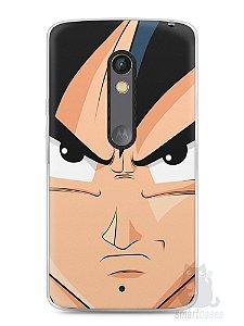 Capa Capinha Moto X Play Dragon Ball Z Goku