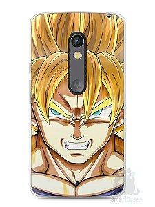 Capa Capinha Moto X Play Dragon Ball Z Gohan SSJ2