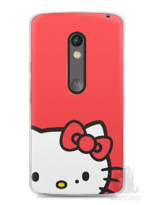Capa Capinha Moto X Play Hello Kitty