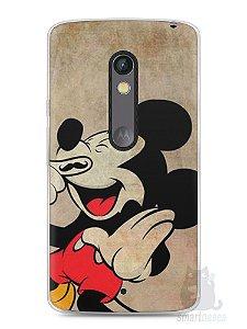 Capa Capinha Moto X Play Mickey Mouse #3