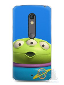 Capa Capinha Moto X Play Aliens Toy Story #1