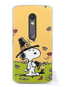 Capa Capinha Moto X Play Snoopy #8