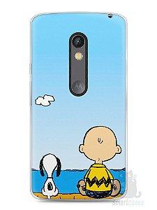 Capa Capinha Moto X Play Snoopy #12